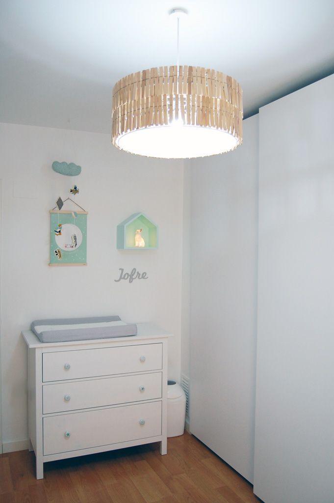 20 best images about hab montesori mint mostaza on - Lampara habitacion infantil ...