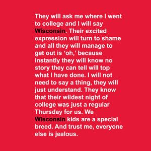 You Had This Quote on Your AIM Profile or Facebook Page | Community Post: 40 Signs You Went To The University Of Wisconsin-Madison