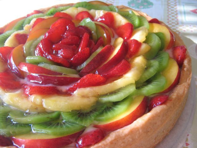 Crostata di frutta  Fruit tart