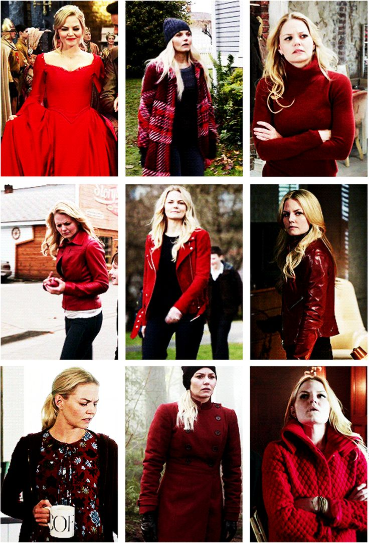 emma swan + red