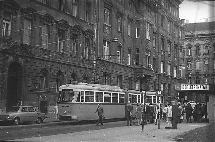 Budapest. Tram