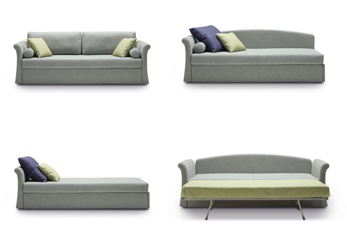 Jack Classic, practical and versatile sofabeds program.