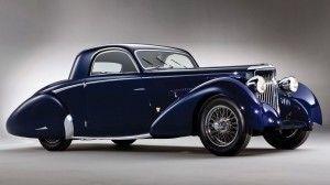 Gambar Mobil Klasik Biru Tua