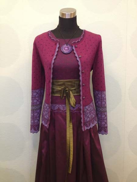Oleana. Maailman kauneimmat neuleet.   Slow clothes, fair made. Design Solveig Hisdal.