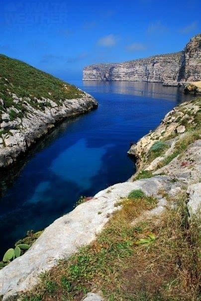 Xlendi gorge in Gozo