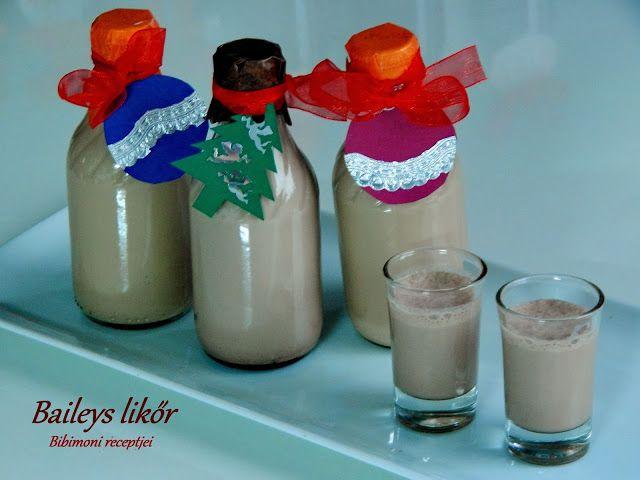 Bibimoni Receptjei: Baileys likőr készítése házilag.