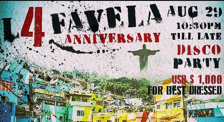 #Seminyak #Bali Nightlife: La Favela 4th Anniversary Party.