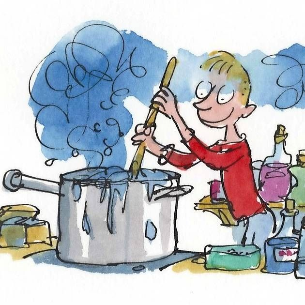 George's Marvellous Medicine by Quentin Blake.
