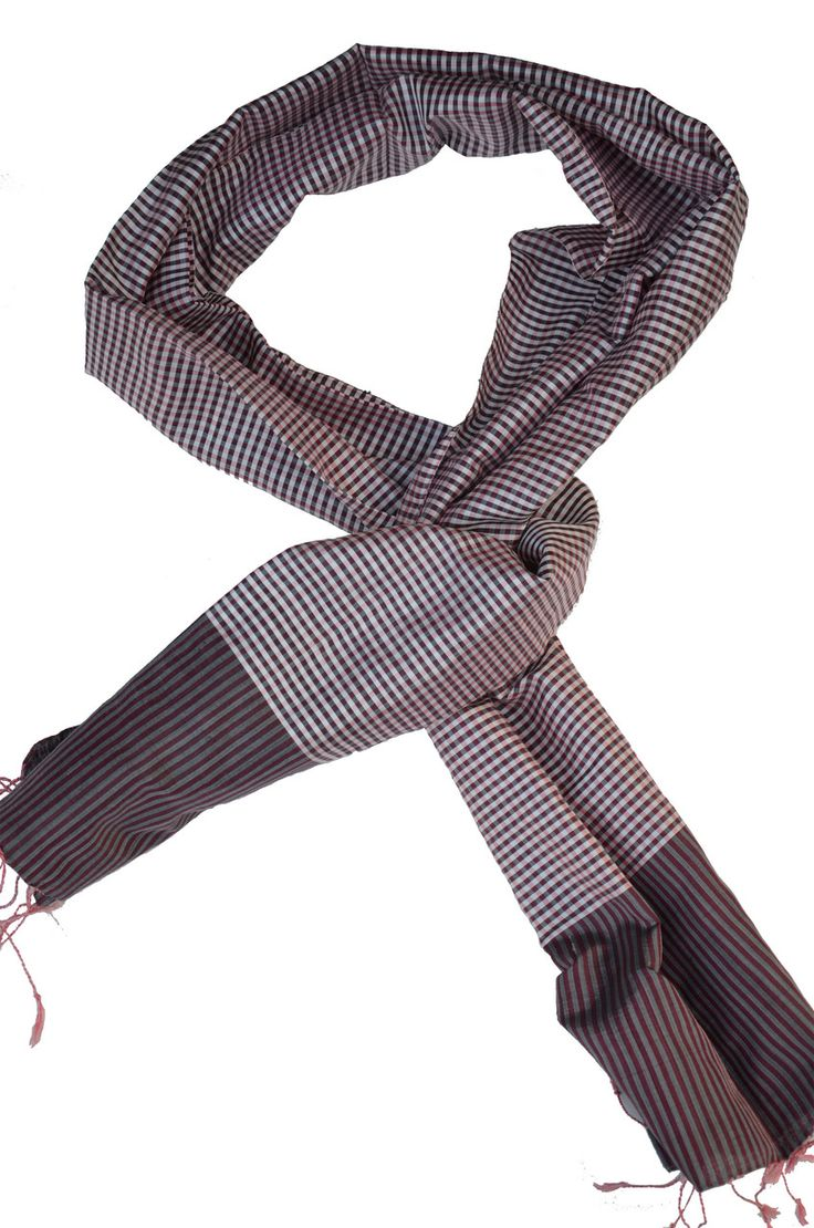 Sreyneang - Scarves from Cambodia - Handmade Silk Scarf from Cambodia (KRFS110), £39.90 (http://www.sreyneang.co.uk/handmade-silk-scarf-from-cambodia-krfs110/)