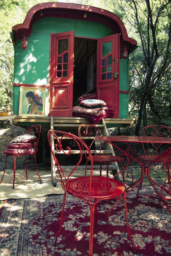 chaise de jardin classique empilable 1900 FERMOB