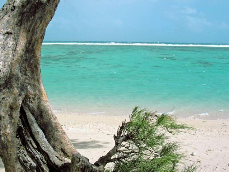 La Réunion, plage de l'Ermitage