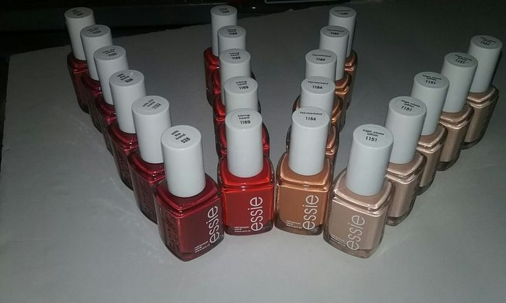 20 ESSIE Wholesale Nail Polish NUDE RED BLUSH baby bridal shower party favor MIX #Essie