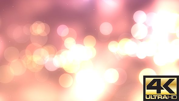Soft Bokeh Background 4K  4K 3840×2160   Seamless Looped Video   0:10 second  #envato #videohive #motiongraphic #aftereffects #background #bokeh #broadcast #clean #corporate #dust #elegant #environment #light #loop #particle #pink #presentation #soft #studio