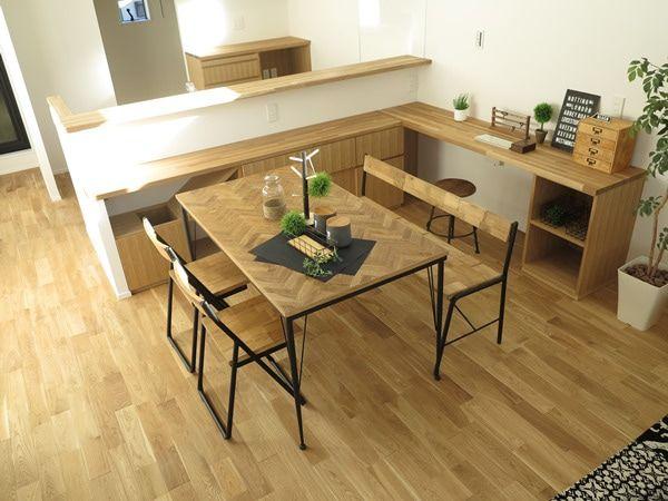 家づくりの盲点!キッチンカウンター、キッチン裏収納がダイニング、リビングスペースを狭くする