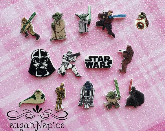 Star Wars Floating Charm Star Wars Floating Charms by sugahNspice I need an assortment of these, too!
