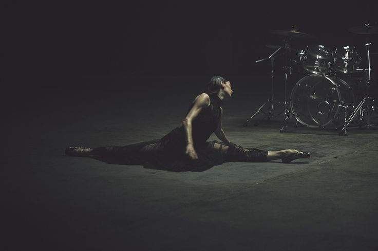 """another-magazine01.jpg An image from the Another Magazine film """"Pointe,"""" performed by Marie-Agnès Gillot and George Barnett and directed by Daniel Askill."""