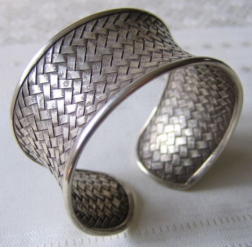 Vintage Hmong silver jewelry from Laos