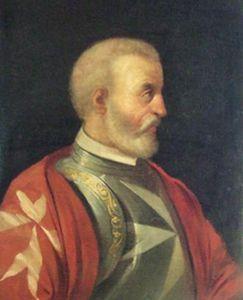 Giovanni Battista Orsini, Grand Master of the Order of St John, 1467-1476. #OrderofMalta #SMOM