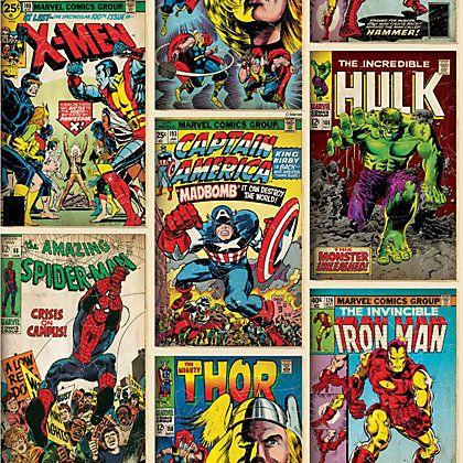 boys love comic marvel!