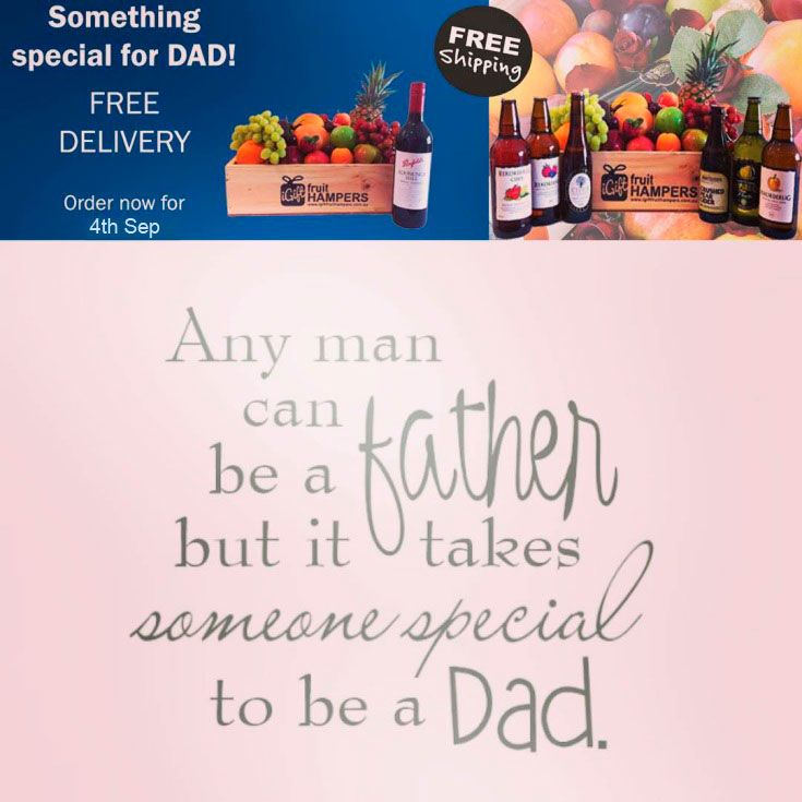 FATHERS DAY 4TH SEPTEMBER  PRE ORDER ONLINE - FREE DELIVERY! Give dad a delicious fruit hamper and add something sweet or bubbly. #fathersday #fathersdayaustralia #giftsaustralia #mangifts #men #gifts #giftideasformen #giftsfordad #fathersdaygiftideas #dad #fathers #day #love #stepdad #gifts #igiftfruithampers
