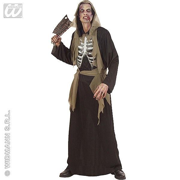 Disfraz de Zombie con Esqueleto #zombie #terror #miedo #disfraces #halloween