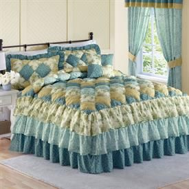 Alexis Puff Top Printed Bedspread Amp More Bedspreads