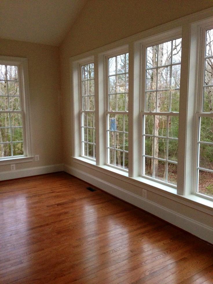 Sunroom Wood Floors Amp Windows Amp Vaulted Ceiling Ooohhhh