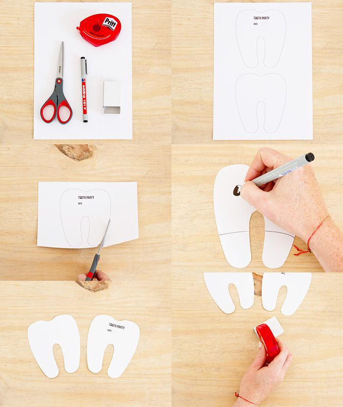 Bloesem Kids | Toothparty DIY invites