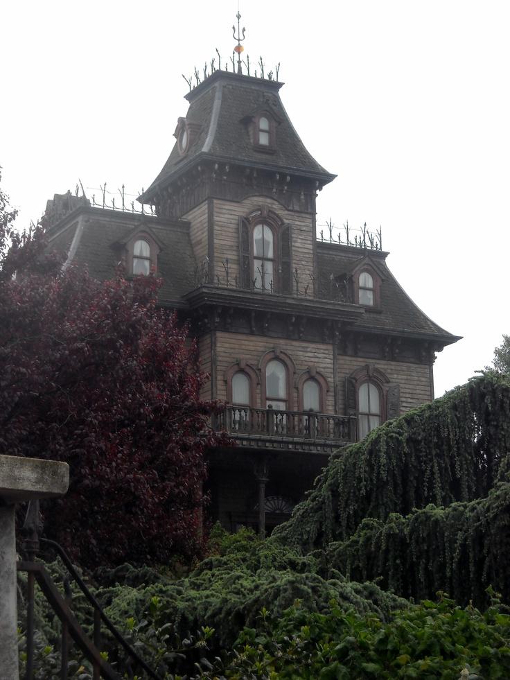 The House of terror, Disneyland, Paris