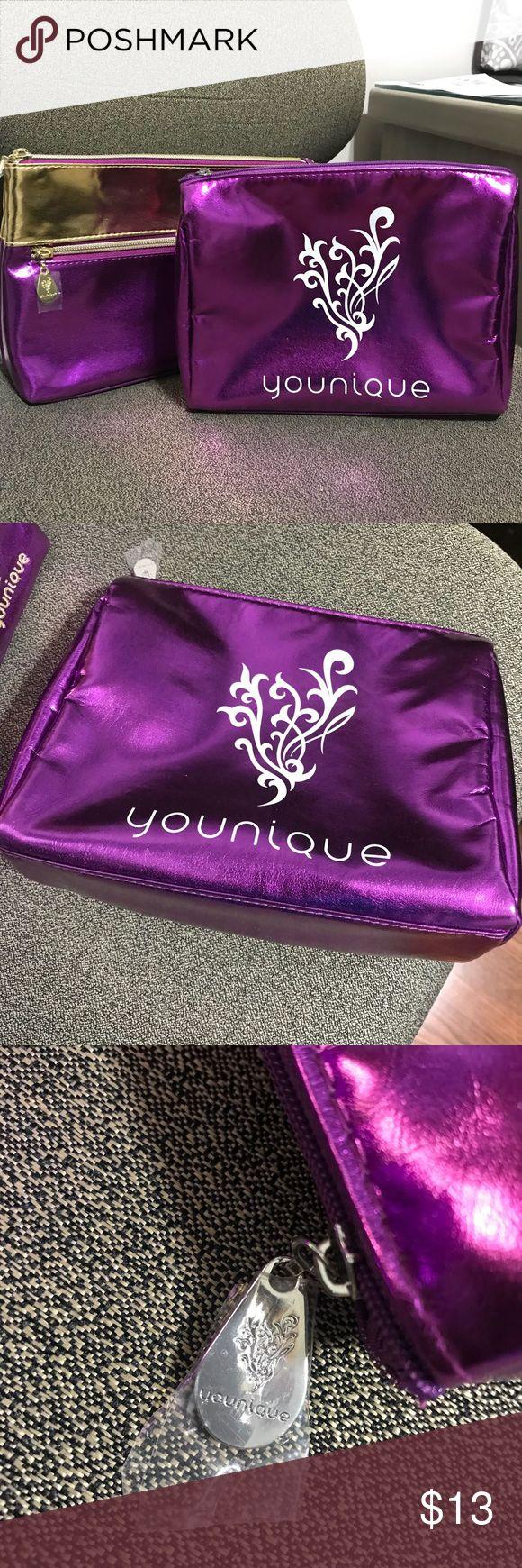 2 Younique makeup cosmetics bag Royalty color Makeup
