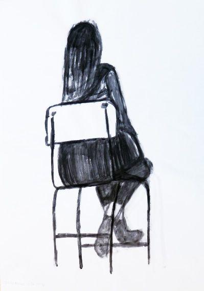 Sílvia Mendes : Tinta-da-china s/ papel, 594 x 420 mm