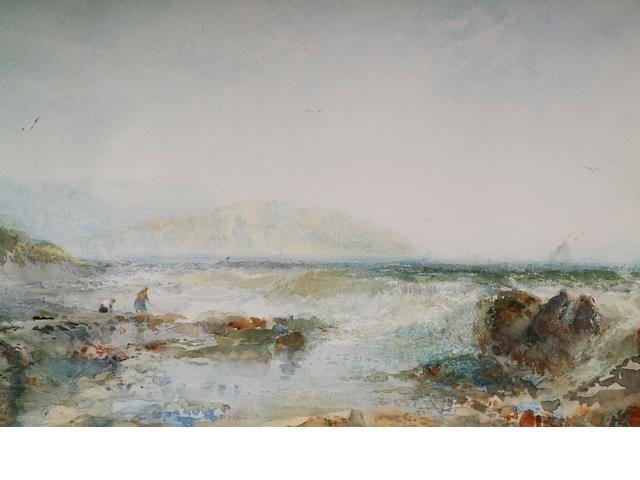 """Albert Pollitt """"Coast at Abergele"""","""