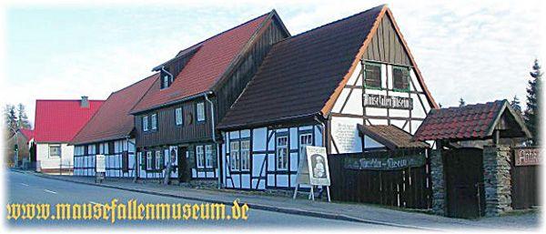 das mausefallen und kuriosit tenmuseum in g ntersberge harz architecture pinterest. Black Bedroom Furniture Sets. Home Design Ideas