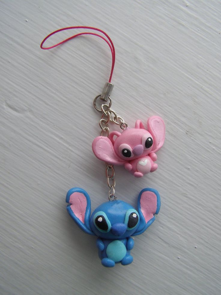 Stitch cellphone strap by LaManish