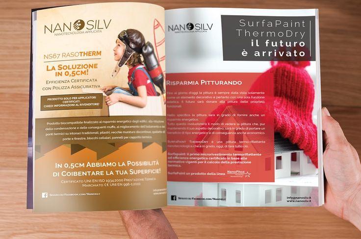 Doppia pagina A4 Nanosilv - Crosis Design