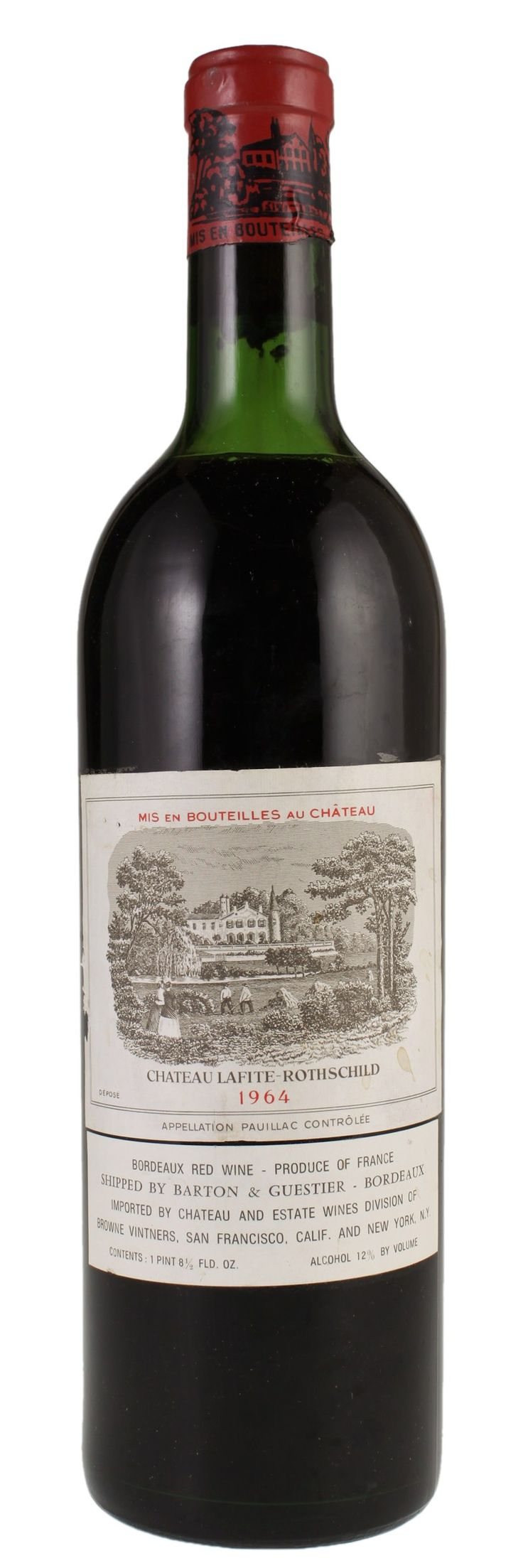 1964 #Chateau Lafite-Rothschild Bordeaux #wine