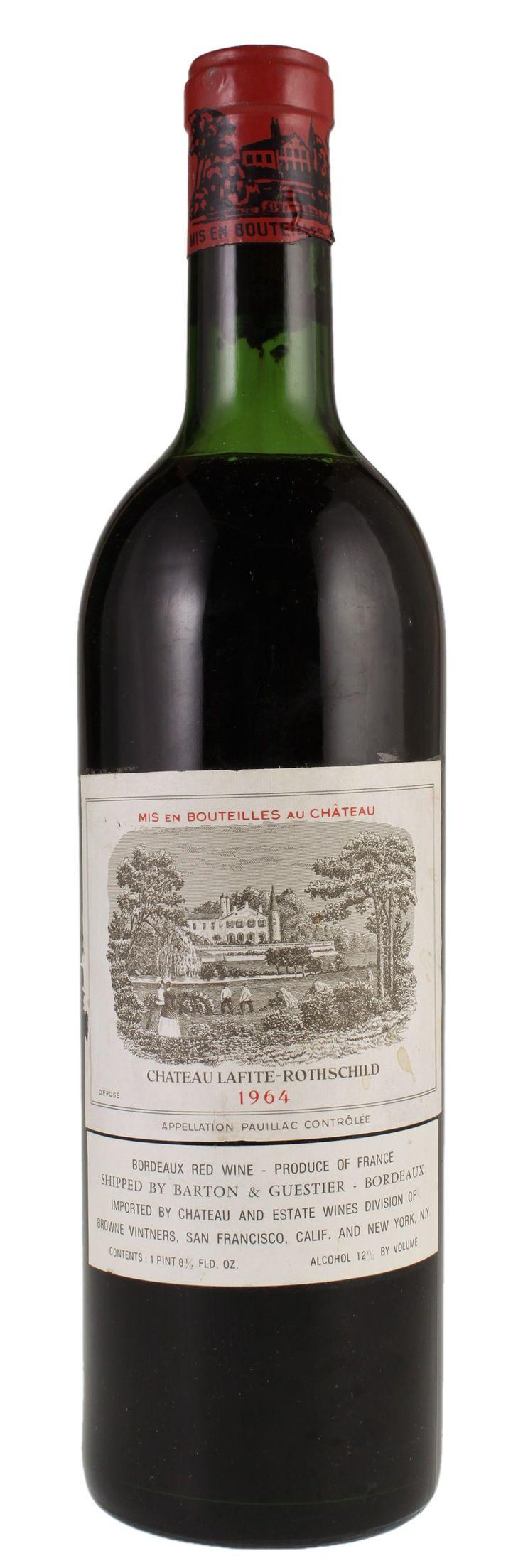 1964 Chateau Lafite-Rothschild Bordeaux