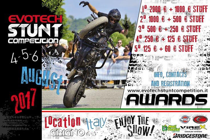 4 edizione manifestazione stunt organizzata dalla ditta Evotech Srl