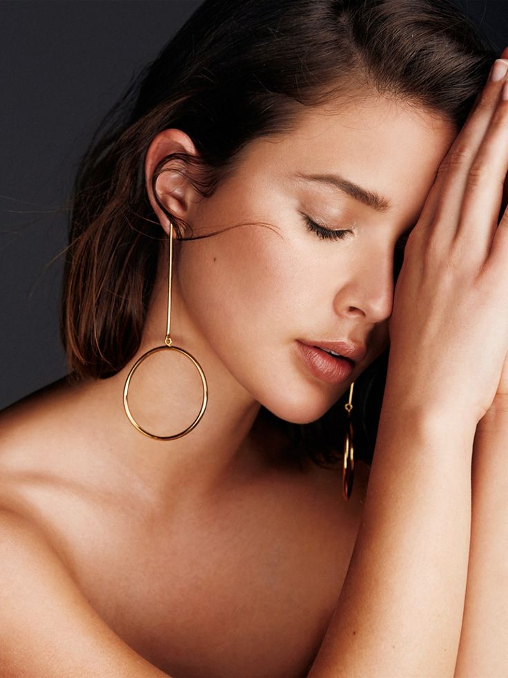 Karien Anne / Four Earring Shapes That Are Anything But Ordinary by Harper and Harley