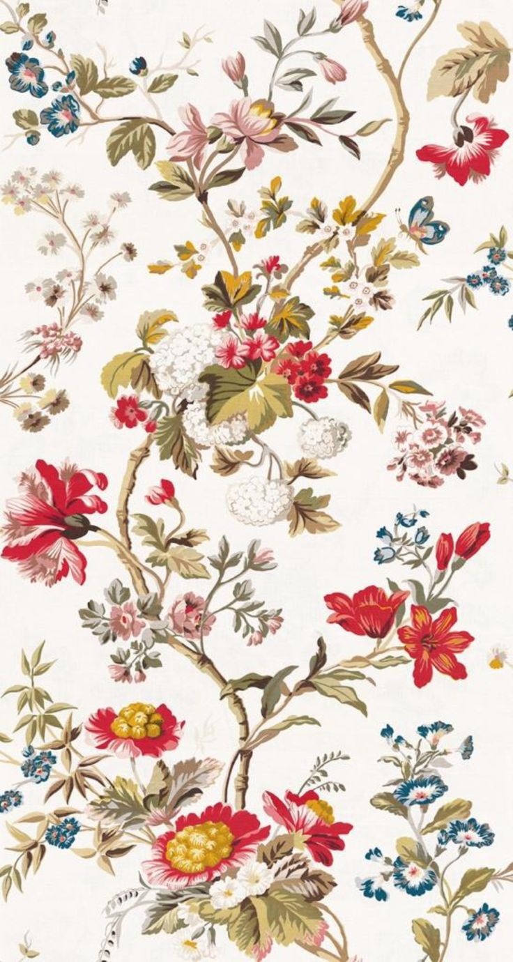 Colony Giamacian wallpaper-magnolia-via Scalamandre