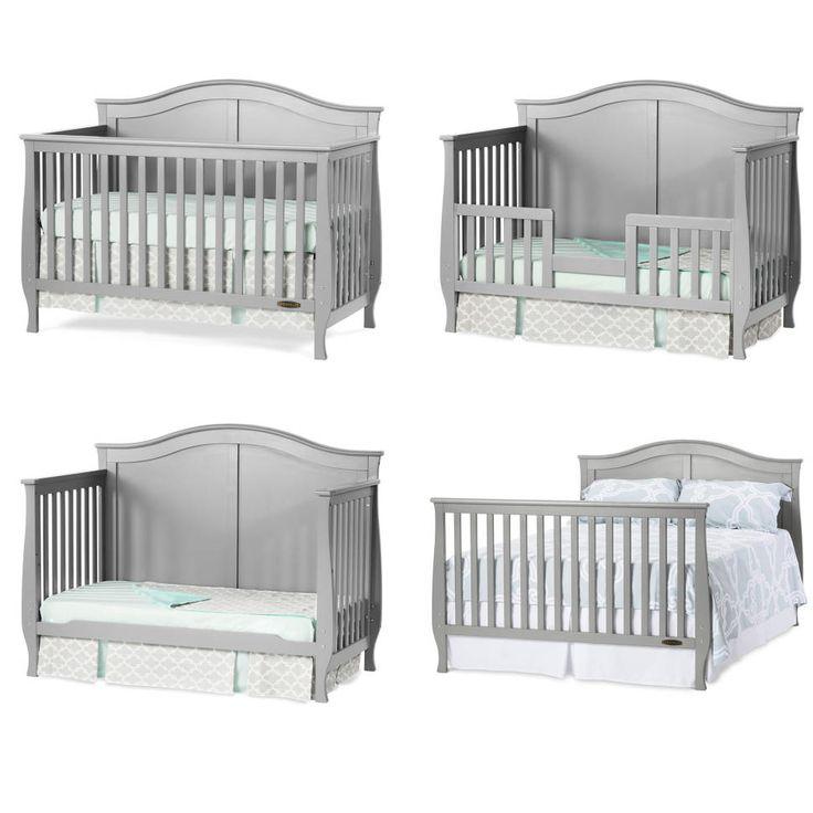 Camden 4 In 1 Convertible Crib Baby Disney Baby Cribs