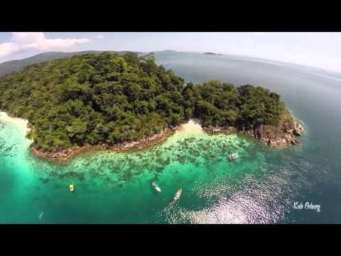 Koh Lipe @ Tarutao National Marine Park ( DRONE ) - YouTube