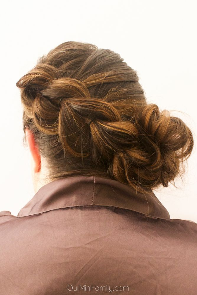 """Our Mini Family: """"Day by the Pool"""" Pull Through Braid with Side Bun Hair Tutorial"""