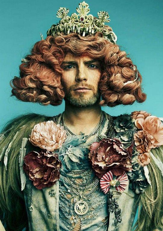 Trashy-Chic Photograhy : Danil Golovkin Garbage Reign - Versailles - Baroque - Rococo