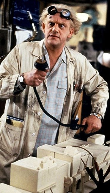 Back to the future 1955 doc brown