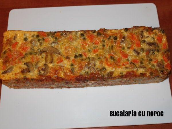 Chec aperitiv cu legume - Bucataria cu noroc