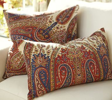 bought the aurora paisley pillow covers potterybarn for