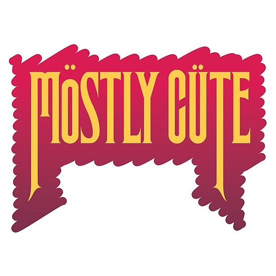 Get a 'Mostly Cute' T shirt for your little Generation Sweet. By lilterra.com