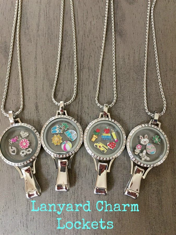 Lanyard Floating Charm Locket {Jane Deals}