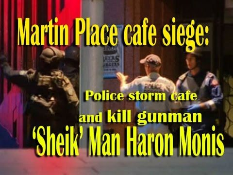 Martin Place cafe siege: Police storm cafe and kill gunman 'Sheik' Man Haron Monis